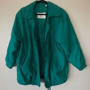 Teal London Fog Jacket